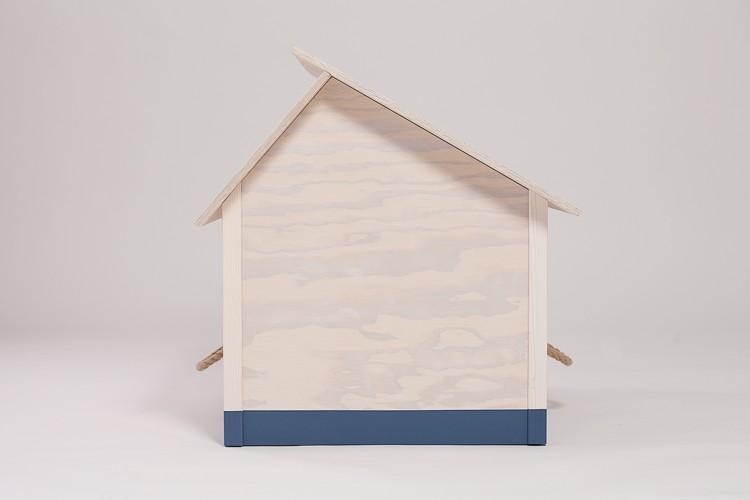 hundeh tte f r drinnen modell 2 kalk wei friesen blau. Black Bedroom Furniture Sets. Home Design Ideas